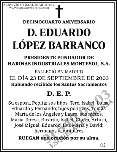 Eduardo López Barranco